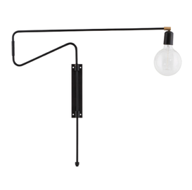 House Doctor Lampe Swing Sort 70cm