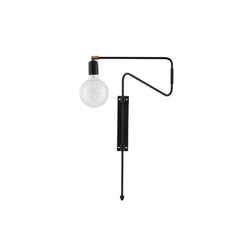 House Doctor Vegglampe Swing Liten, 35cm