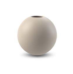 COOEE Ball Vase 10cm, Sand