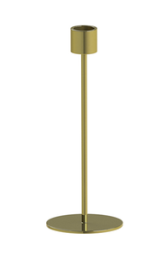 COOEE Lysestake Messing - 21cm (389-candlestick-brass-21cm)