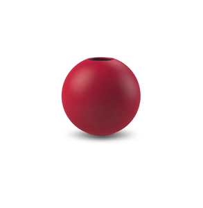 COOEE Ball Vase 8cm, Rød (389-ball-dusty-red-8cm)
