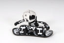 Chuckbuddies Skully Snowboarder - Svart