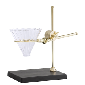 Bloomingville Kaffetrakt Stand, Gull/ Glass (152-32907227)