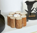 OOhh Kurundu Wood Tealight holder