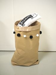 A Little Lovely Company DIY PaperBag - Brun