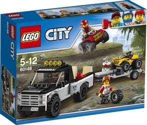 LEGO® City ATV racingteam med sjåfører