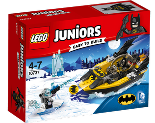 Lego® Juniors Batman mot Mr. Freeze