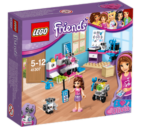 LEGO® Friends Olivias Kreative_Lab, med minifigur