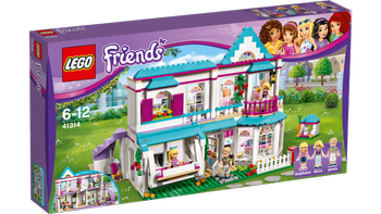 LEGO® Friends Stephanies hus, med minifigurer