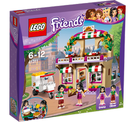 LEGO® Friends Heartlakes Pizzeria, med minifigurer