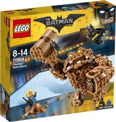LEGO® BATMAN MOVIE Clayfaces Leireangrep, med minifigurer