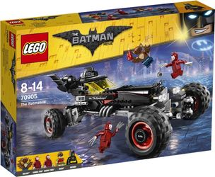 LEGO® BATMAN MOVIE Batmobilen - med minifigurer