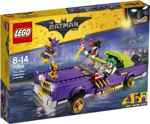 LEGO® BATMAN MOVIE Jokerens Lowrider, med minifigurer