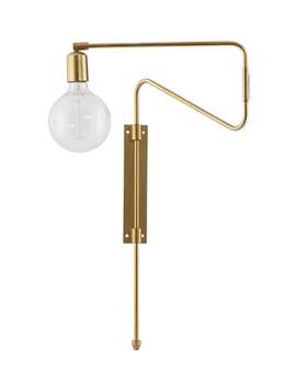House Doctor Lampe Swing Messing 35cm