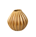 Broste Copenhagen Vase Wide Gul, Medium