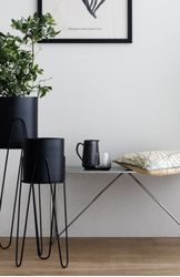 Broste Copenhagen Pottesett Lisa, Simply Black