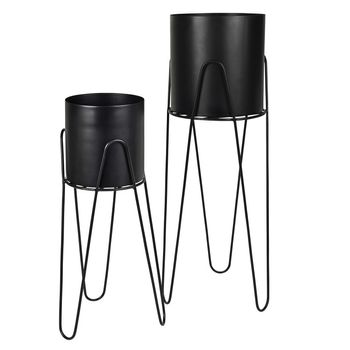 Broste Copenhagen Pottesett Lisa, Simply Black (190-71123210)