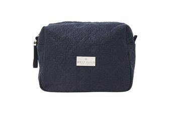 Molly Marais Logo Sminkeveske Midnight_Blue, Medium