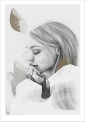 Anna Bülow Poster Dreamer in white