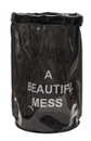 "Nomess Oppbevaringspose ""A beautiful mess""_Grå"