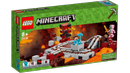 LEGO® Minecraft Nether-Jernbanen - med figurer