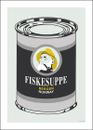 "Holviks Poster ""Fiskesuppe"" - A4"