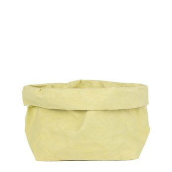 Uashmama Large Paper Bag, Cedro