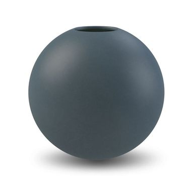 COOEE Ball Vase 20cm, Midnattsblå (389-ball-midnightblue-20cm)