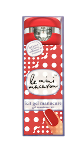 Le Mini Macaron Manicure Kit, Cherry Red (419-KIT003)