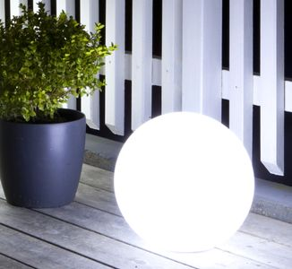 GP MoodLite Globe LED-ball 250mm, oppladbart-batteri (338-473002)
