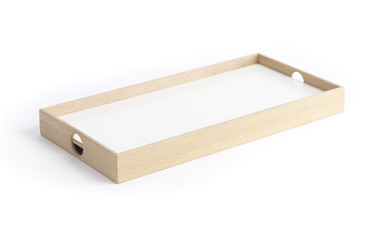 The Oak Men Flip Tray Small, sort-hvit (376-65-10)