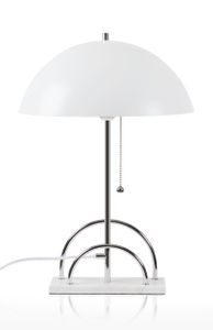 Globen Lighting Bordlampe Sarah Hvit, H50cm (205-427508)