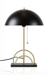 Globen Lighting Bordlampe Sarah Sort, H50cm