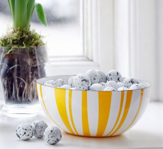 Cathrineholm Stripes Bolle Gul, 20cm (364-100355374)