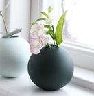 COOEE Ball Vase 8cm, Mørkegrønn
