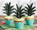 PartyDeco Aloha Ananas Toppers, 6stk