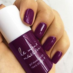 Le Mini Macaron Single Gel Polish, Blackberry