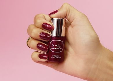 Le Mini Macaron Single Gel Polish, Sour_Cherry (419-COL035)