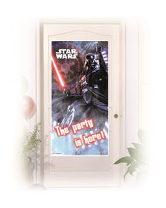 Star Wars Final Battle Dekorativ dørbanner,  1 stk (126-85219)