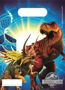 Jurassic World Godteposer m/motiv, (6 pk) (126-87213)