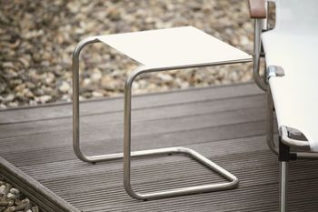 Fiam Club Sidebord Aluminium-Hvit (301PV-ALU-BI)