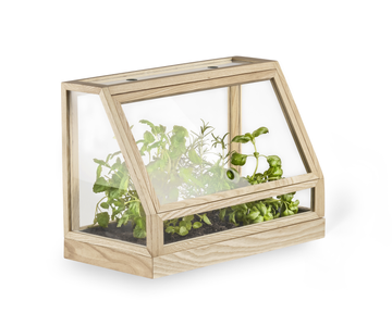 Design House Stockholm Veksthus Greenhouse Mini, Ask (408-2425-8100)
