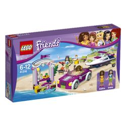 LEGO® Friends Andreas Bil med speedbåthenger