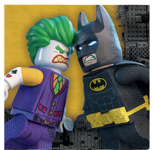 LEGO® BATMAN MOVIE Servietter 16stk - 33x33cm (332-BMLENAPKT)