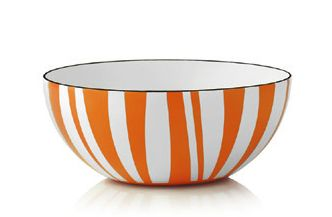 Cathrineholm Stripes Bolle Orange, 14cm (364-100357610)