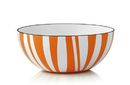 Cathrineholm Stripes Bolle Orange, 14cm
