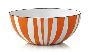 Cathrineholm Stripes Bolle Orange, 18cm