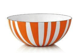 Cathrineholm Stripes Bolle Orange, 24cm