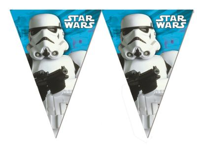 Star Wars Final Battle Flaggbanner - dekorativ pynt (126-84168)