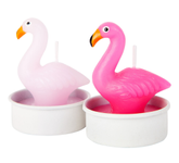 Sunnylife Party Telys Flamingo, 6stk/pk (439-SUGTEAFL)